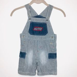 TOMMY HILFIGER Boy's  Strip Overall Pants 24 month